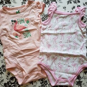 Flamingo Onesie Set